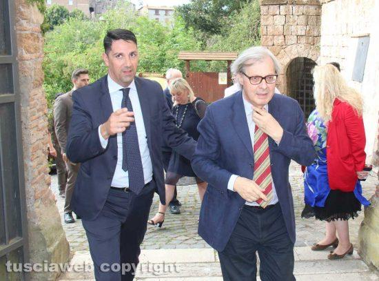 Felice Casini e Vittorio Sgarbi