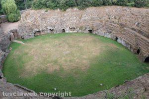 Sutri - L'anfiteatro