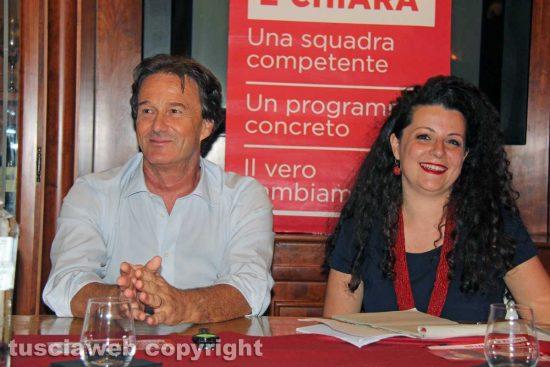 Francesco Bigiotti e Chiara Frontini