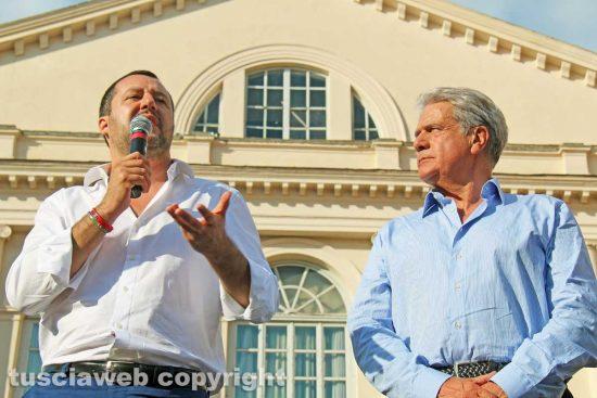 Matteo Salvini e Giovanni Arena