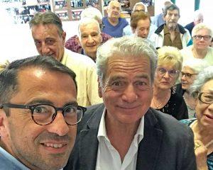 Confartigianato - Il neosindaco Arena con De Simone