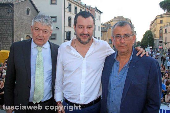 Umberto Fusco, Matteo Salvini ed Enrico Maria Contardo