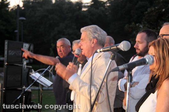Viterbo - Chiusura campagna elettorale di Arena a Pratogiardino