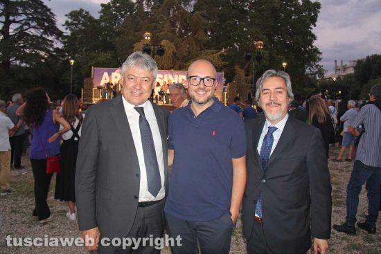 Umberto Fusco, Mauro Rotelli e Francesco Battistoni