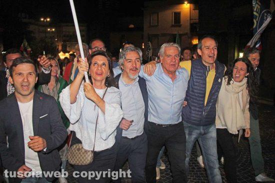 Giovanni Arena sindaco - La festa in piazza