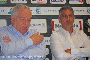 Sport - Calcio - Viterbese - Piero Camilli e Giovanni Lopez