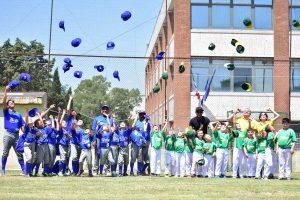 Sport - Baseball - Montefiascone - I viterbesi assieme agli atleti del Latina