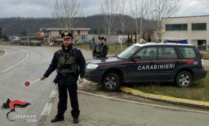 I carabinieri di Terni