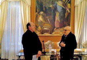 Luciano Osbat e Vincenzo Ceniti