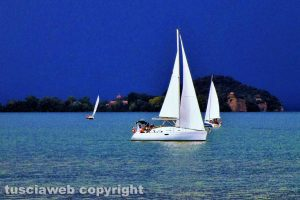 Bolsena - Vele sul lago di Bolsena