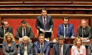 Giuseppe Conte - Il discorso d'insediamento al senato