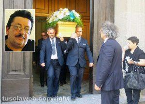 Soriano nel Cimino - I funerali di Mauro Mariani