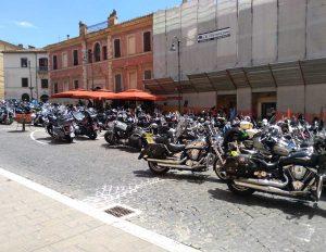 Tarquinia - Raduno motociclistico nazionale Vroc Italy