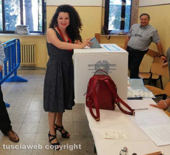 Viterbo - Elezioni - Il voto di Chiara Frontini