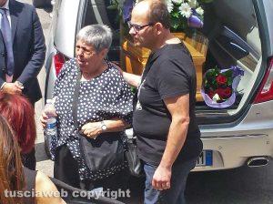 Viterbo - I funerali di Sergio Milioni