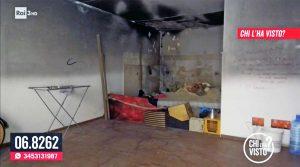 Roma - La casa dove è stato trovato il corpo di Amalia Voican