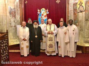 Il Cairo - Il clero cattolico italiano insieme al clero copto d'Egitto