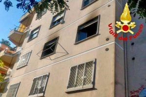 Roma - Appartamento a fuoco Roma - Appartamento a fuoco