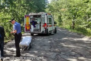 Bolsena - Le immagini dell'incidente