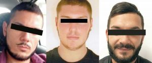 Caprarola - I tre ragazzi arrestati dai carabinieri