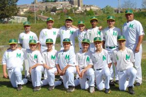 Sport - Baseball - Montefiascone - La squadra under 15