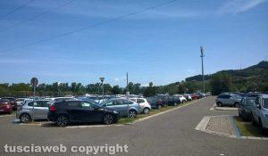Il parcheggio di Molegnano a Orte