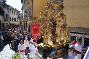 Canepina - La processione in onore di Santa Corona