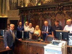 La proclamazione di Giovanni Arena sindaco
