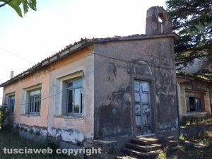 Chiesa e scuola della Vaccareccia in strada Procoio