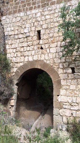 Ingresso di Castel d'Asso
