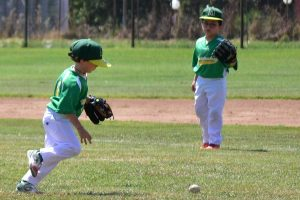 Sport - Baseball - Due piccoli atleti del Montefiascone