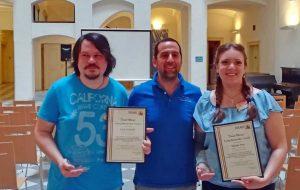 La premiazione del Dniel Mareci young researcher award