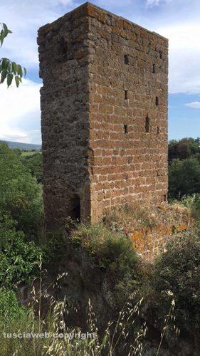 La torre di Castel d'Asso