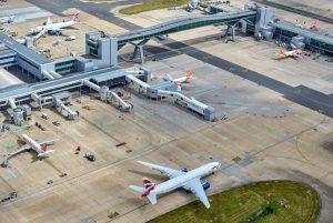 Londra - L'aeroporto di Gatwick