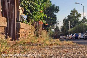 Viterbo - Via Giuseppe Ricci nel degrado