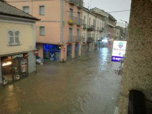 Maltempo - Allagamenti ad Asti