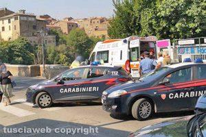 Civita Castellana - Carabinieri e 118 a Ponte Clementino