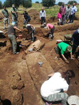 Capodimonte - Gli scavi archeologici nella zona delle Buccacce