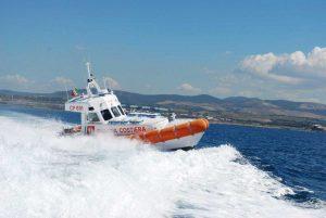 Civitavecchia - La guardia costiera in azione