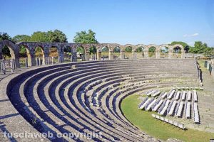 Viterbo - L'area archeologica di Ferento