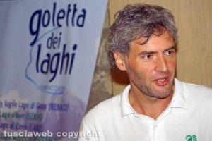 Bolsena - Il presidente di Legambiente Lazio Roberto Scacchi