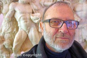 Bolsena - Il direttore del museo Pietro Tamburini