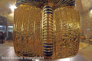 Viterbo - La maschera d'oro di Tankhamon