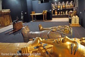 Viterbo - La tomba del faraone Tutankhamon