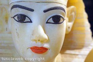 Viterbo - Il volto di Tutankhamon