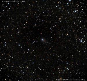 La cometa 21P/Giacobini-Zinner nella costellazione di Cefeo