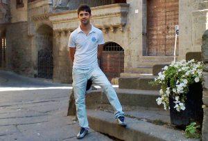 Viterbo - Giuseppe Franzè a piazza San Pellegrino
