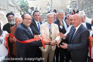Viterbo - L'inaugurazione della mostra I tesori di Tutankhamon