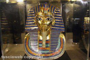 Viterbo - La maschera di Tutankhamon