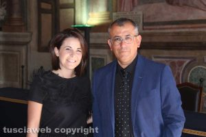 Claudia Nunzi ed Enrico Maria Contardo